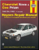 1985-1992 Chevrolet Nova, Geo Prizm Haynes Repair & Service Manual (SKU: 156392062x)