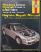 1990 - 1994 Mitsubishi Eclipse, Plymouth Laser & Eagle Talon Haynes Repair Manual (SKU: 1563920972)