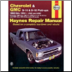 1983 - 1994 Chevrolet S-10 Blazer & GMC S-15 Jimmy, '82-'93 S-10 & S-15 Pick-ups & '91 - '94 Oldsmobile Bravada Haynes Repair Manual (SKU: 1563921162)
