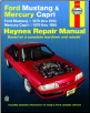 1979 - 1993 Ford Mustang & 1979 - 1986 Mercury Capri Haynes Repair Manual (SKU: 1563921308)
