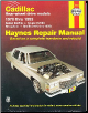 1970 - 1993 Cadillac Rear-wheel Drive Models Haynes Repair Manual (SKU: 1563921650)