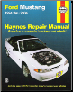 1994 - 2004 Ford Mustang, Haynes Repair Manual (SKU: 1563926768)
