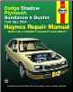 1987 - 1994 Dodge Shadow, Plymouth Sundance & Duster Haynes Repair Manual (SKU: 1563921855)