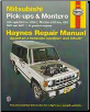 1983 - 1996 Mitsubishi Pick-ups & Montero Haynes Repair Manual (SKU: 1563921928)