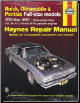 1970 - 1990 Buick, Oldsmobile & Pontiac Full-Size Models Haynes Repair Manual (SKU: 1563922479)