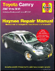 2007 - 2015 Toyota Camry, Avalon & Lexus ES 350 Haynes Repair Manual (SKU: 1563922711)