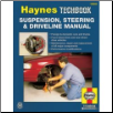 Suspension, Steering and Driveline Manual, Haynes Techbook Series (SKU: 1563922932)