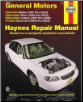 1997 - 2003 Chevrolet Malibu, Oldsmobile Alero & Cutlass & Pontiac Grand Am, Haynes Repair Manual (SKU: 1563925370)