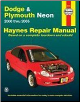 2000 - 2005 Dodge & Plymouth Neon, Haynes Repair Manual (SKU: 1563925966)