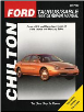 1996 - 2005 Ford Taurus & Mercury Sable Chilton's Total Car Care Manual (SKU: 1563926067)