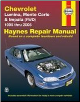 1995 - 2005 Chevrolet Lumina, Monte Carlo & Impala (FWD), Haynes Repair Manual (SKU: 1563926326)
