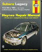 1990 - 1999 Subaru Legacy All Models, Haynes Repair Manual (SKU: 1563926466)