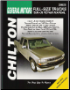 1999 - 2006 Chevrolet/GMC Avalanche Silverado, Sierra (Denali), Suburban, Tahoe, Yukon (XL & Denali) Chilton's Total Car Care Manual (SKU: 1563926865)
