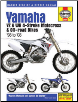 1998 - 2008 Yamaha Superbike YZ & WR 4-Stroke Motorcross & Off-Road Haynes Repair Manual (SKU: 1620922150)