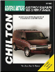 1985 - 2005 Chevrolet Astro & GMC Safari Mini-Van Chilton's Total Car Care Manual (SKU: 1563926970)