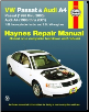 1996 - 2005 Volkswagen Passat & Audi A4 Haynes Repair Manual (SKU: 1563927039)