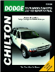 2001 - 2004 Dodge Durango & Dakota Chilton's Total Car Care Manual (SKU: 1563927055)