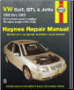 1999 - 2005 VW Golf, GTI & Jetta Haynes Repair Manual (SKU: 156392708X)