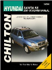 2001 - 2006 Hyundai Santa Fe Chilton's Total Car Care Manual (SKU: 1563927241)