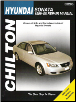 1999 - 2008 Hyundai Sonata Chilton's Total Car Care Manual (SKU: 156392739X)