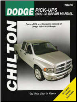 2002 - 2008 Dodge Full-Size Pick-Ups Ram 1500-3500 Chilton's Total Car Care Manual (SKU: 1563927632)
