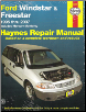 1995 - 2007 Ford Windstar/Freestar & Mercury Monterey Haynes Repair Manual (SKU: 1563927659)