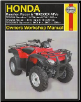 2000 - 2009 Honda TRX250 & TRX350 (Rancher, Recon, Sportrax) ATV's Haynes Repair Manual (SKU: 1563927780)