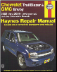 2002 - 2009 Chevrolet Trailblazer, GMC Envoy & Oldsmobile Bravada Haynes Repair Manual (SKU: 1563929619)