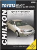 2002 - 2006 Toyota Camry, Chilton's Total Car Care Manual - Softcover (SKU: 162092028X)