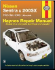 1995 - 2006 Nissan Sentra & 200SX Haynes Repair Manual (SKU: 1563928027)
