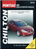 2005 - 2009 Pontiac G6 Chilton's Total Car Care Manual (SKU: 1563928051)