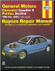 1995 - 2005 GM: Chevrolet Cavalier & Pontiac Sunfire Haynes Repair Manual (SKU: 1563928140)