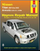 2004 - 2010 Nissan Armada & 2004 - 2009 Titan Haynes Repair Manual (SKU: 1563928167)