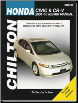 2001 - 2010 Honda Civic & 2001 - 2009 CR-V, Chilton's Total Car Care Manual (SKU: 1563928914)