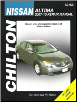 2007 - 2010 Nissan Altima Chilton Total Car Care Manual (SKU: 1563929074)