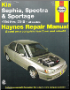 1994 - 2010 Kia Sephia, Spectra and Sportage Haynes Repair Manual (SKU: 1563929082)