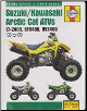 2003 - 2009 Suzuki, Kawasaki & Arctic Cat ATV Haynes Repair Manual (SKU: 1563929104)