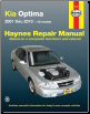 2001 - 2010 Kia Optima Haynes Repair Manual (SKU: 1563929244)