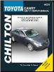 2007 - 2011 Toyota Camry, Avalon & Lexus ES 350 Chilton's Total Car Care Manual (SKU: 1563929252)