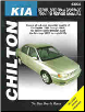 1994 - 2010 Kia Sephia & Spectra Chilton's Total Car Care Manual (SKU: 1563929600)