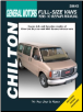 1996 - 2010 Chevrolet and GMC Full-Size Vans Haynes Repair Manual (SKU: 1563928876)