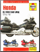 2001 - 2010 Honda GL 1800 Gold Wing Haynes Repair Manual (SKU: 1620921901)