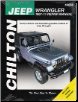 1987 - 2011 Jeep Wrangler Chilton's Total Car Care Manual (SKU: 1563929848)