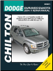 2004 - 2009 Dodge Durango & 2005 - 2011 Dodge Dakota Chilton's Total Car Care Manual (SKU: 1563929880)