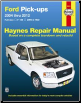 2004 - 2012 Ford F-150 Pick-ups Haynes Repair Manual (SKU: 1563929910)