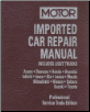 1997 - 2002 MOTOR Imported Asian Car & Light Truck Repair Manual - 2 Vol. Set (SKU: 1582511241)