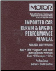 2001 - 2003 MOTOR Imported European Car & Light Truck Repair & Engine Performance Manual (SKU: 1582511535)