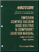 2014-2015 MOTOR Emission Control Vacuum Hose Routing & Component Location Manual 9th Edition (SKU: 1582514763)