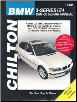 1999 - 2005 BMW  3-Series (E46 Chassis) and Z4,Chilton's Total Car Care Manual (SKU: 1620920026)