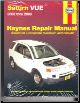 2002 - 2009 Saturn Vue Haynes Repair Manual (SKU: 1620920255)